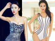 Bạn trẻ - Cuộc sống - Hot girl Giao thông TQ khoe vòng eo 52cm với bikini