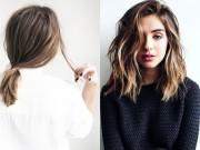 Làm đẹp - 5 kiểu tóc xinh và siêu đơn giản cho nàng tóc ngắn