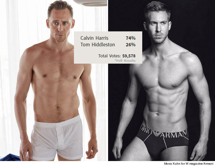 Tom Hiddleston va Calvin Harris - 1