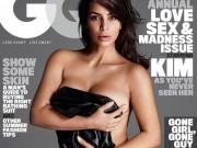 Thời trang - Kim Kardashian đẹp gợi cảm trên trang bìa tạp chí