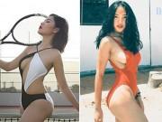 Thời trang - Hot girl Việt quá đỗi sexy với áo tắm hở hông táo bạo