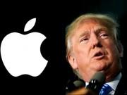 Thời trang Hi-tech - Mâu thuẫn với Donald Trump, Apple từ chối hỗ trợ sản phẩm cho GOP