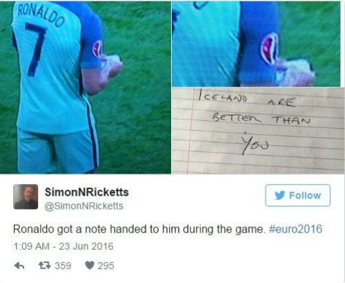 """Mảnh giấy bí ẩn từ HLV sau """"cơn điên"""" của Ronaldo - 7"""