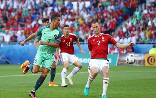 EURO 2016: Ronaldo sút gấp đôi Bale, hơn 8 đội khác