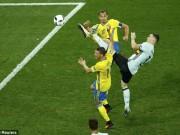 Bóng đá - Thụy Điển - Bỉ: Siêu phẩm định đoạt cuộc chơi