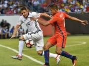 """Bóng đá - Colombia - Chile: Bản lĩnh bậc """"đế vương"""""""