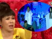 """Phim - Việt Hương """"nổi da gà"""" với tiểu phẩm hài kinh dị"""