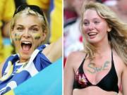 """Bóng đá - Fan nữ xinh đẹp """"đốt cháy"""" khán đài Euro 2016"""