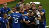 """Euro 2016: Bình luận viên """"phát cuồng"""" vì Iceland"""