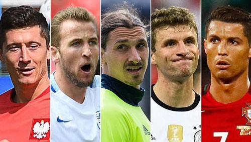 Ronaldo, Ibra tới Lewandowski: Ghi bàn ở Euro quá khó