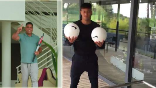Em gái cưng khuyên Neymar rời Barca