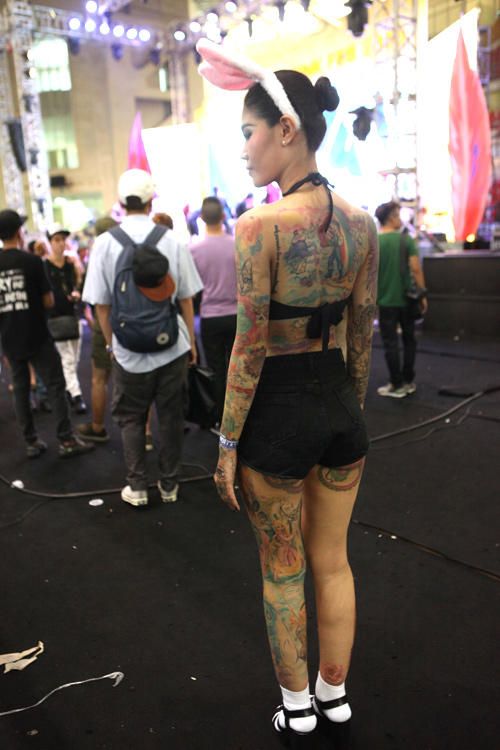Soóc ngắn sexy ngập tràn lễ hội xăm mình ở Hà Nội - 2