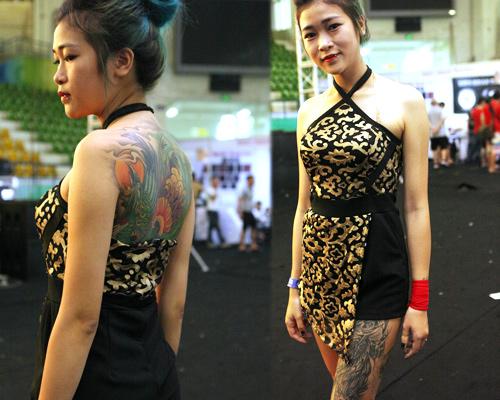 Soóc ngắn sexy ngập tràn lễ hội xăm mình ở Hà Nội - 11