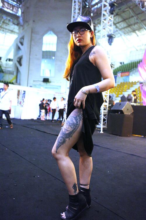 Soóc ngắn sexy ngập tràn lễ hội xăm mình ở Hà Nội - 12