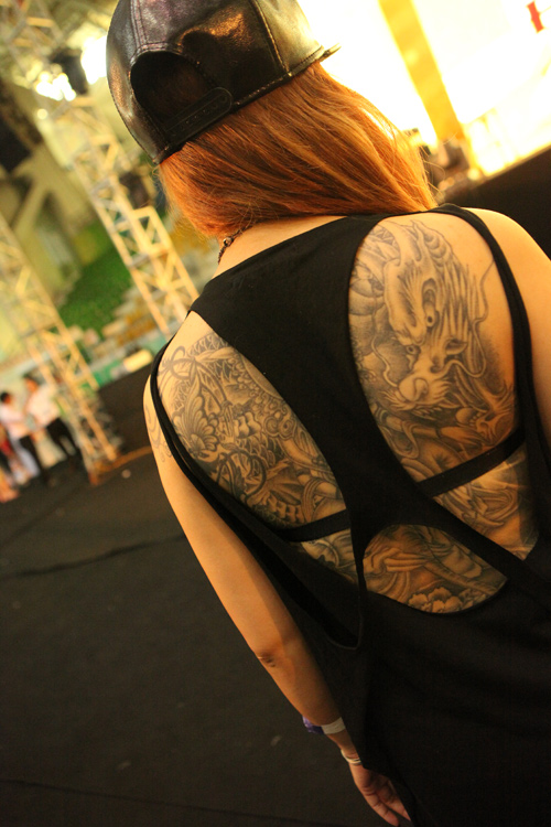 Soóc ngắn sexy ngập tràn lễ hội xăm mình ở Hà Nội - 8