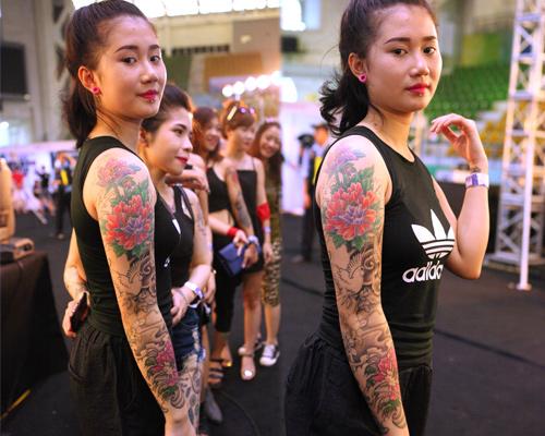 Soóc ngắn sexy ngập tràn lễ hội xăm mình ở Hà Nội - 7