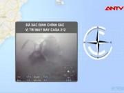 Video An ninh - Đã xác định chính xác vị trí máy bay CASA 212 rơi