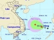 Tin tức trong ngày - Áp thấp nhiệt đới mạnh xuất hiện trên Biển Đông