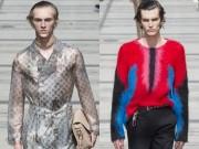 Thời trang - Louis Vuitton: Khi trai đẹp mặc áo xuyên thấu