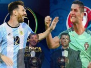 Bóng đá - Messi thăng hoa, Ronaldo phải giành Quả bóng vàng EURO