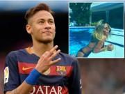 Bóng đá - Em gái cưng khuyên Neymar rời Barca