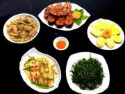 Ẩm thực - Bữa cơm có cá kho, rau muống luộc vô cùng hút cơm