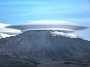 Phi thường - kỳ quặc - Đám mây hình đĩa bay khổng lồ trên đỉnh núi ở Italia