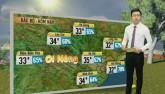 Dự báo thời tiết VTV 25/6: Áp thấp nhiệt đới gây mưa dông trên đất liền