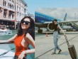 Hoa hậu Kỳ Duyên diện đồ sành điệu đi du lịch