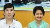 """Long Nhật, Phi Nhung đi từ thiện cùng """"Cô dâu 8 tuổi"""""""