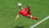 """""""Messi Thụy Sĩ"""" lập siêu phẩm đẹp nhất Euro"""