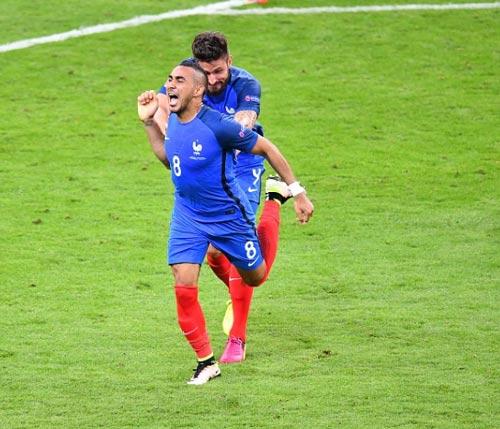 """Pháp – CH Ailen: Ám ảnh bàn tay """"ma"""" (Vòng 1/8 Euro 2016)"""