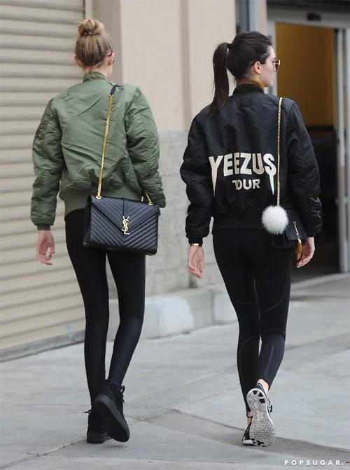 Phong cach dinh cao cua bo doi hot girl Hollywood