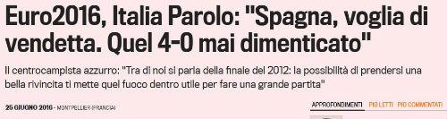 Trước đại chiến TBN, báo giới Ý sôi sục báo thù