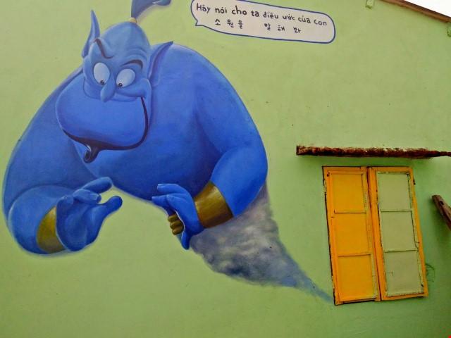 Độc đáo ngôi làng bích họa ở TP Tam Kỳ - 9