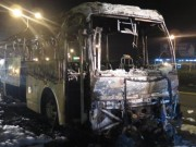 Tin tức trong ngày - Xe khách 45 chỗ bất ngờ bốc cháy dữ dội trên quốc lộ