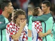 Bóng đá - Video hot EURO 26/6: Nụ cười Ronaldo, nước mắt Modric