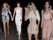 """Thời trang - Phong cách đỉnh cao của bộ đôi """"hot girl Hollywood"""""""