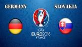Chi tiết Đức - Slovakia: Thênh thang vào tứ kết (KT)