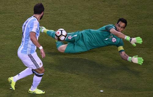 Video Argentina vs Chile - 1