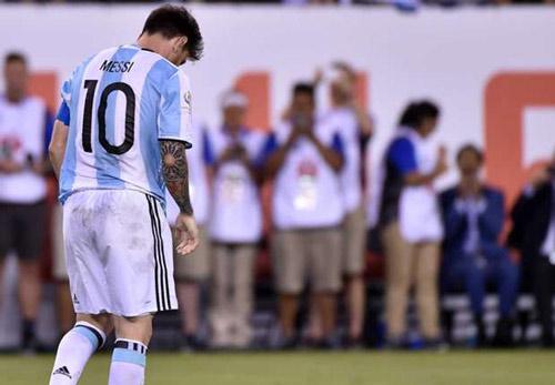 Lionel Messi đã 3 trận chung kết liên tiếp không thể giúp Argentina ghi bàn