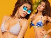 """Thời trang - Hoa hậu """"thi chui"""" Oanh Yến quá nóng bỏng với bikini"""