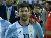 Bóng đá - Góc ảnh: Nước mắt của Messi ngày Chile đăng quang