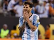 Bóng đá - Messi gây sốc chia tay đội tuyển Argentina