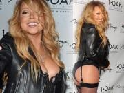 Thời trang - U50 Mariah Carey gây sốc khi mặc nội y lên thảm đỏ