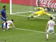 """Bóng đá - De Gea và Buffon thi nhau """"bay lượn"""" trận Ý - Tây Ban Nha"""