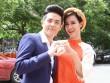 Đông Nhi như cô dâu bên bạn trai chấm thi The Voice Kids
