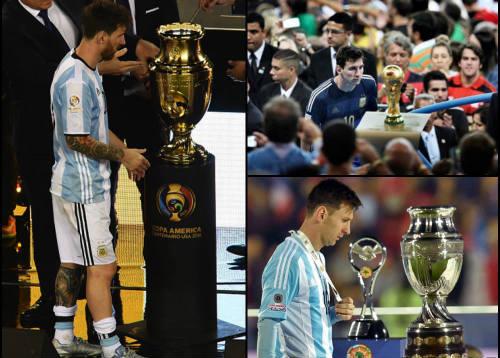 Tổng thống & Maradona xin Messi đừng bỏ ĐT Argentina
