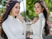 """Thời trang - """"Nàng thơ xứ Huế"""" lại gây sốt khi diện áo dài trắng"""