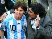 Bóng đá - Tổng thống & Maradona xin Messi đừng bỏ ĐT Argentina
